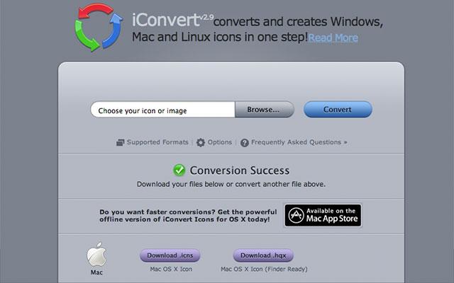konvertera ikoner