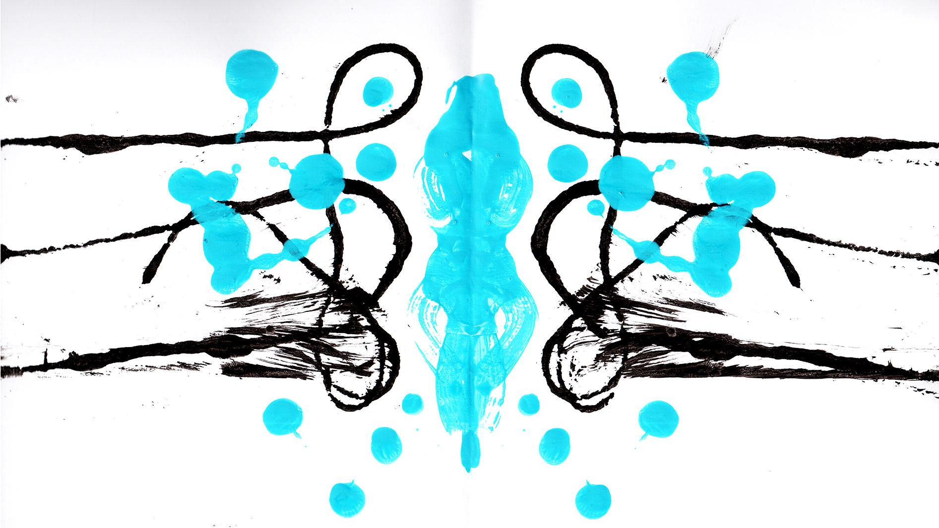 symmetri pa analogt vis - skrivbordsbild
