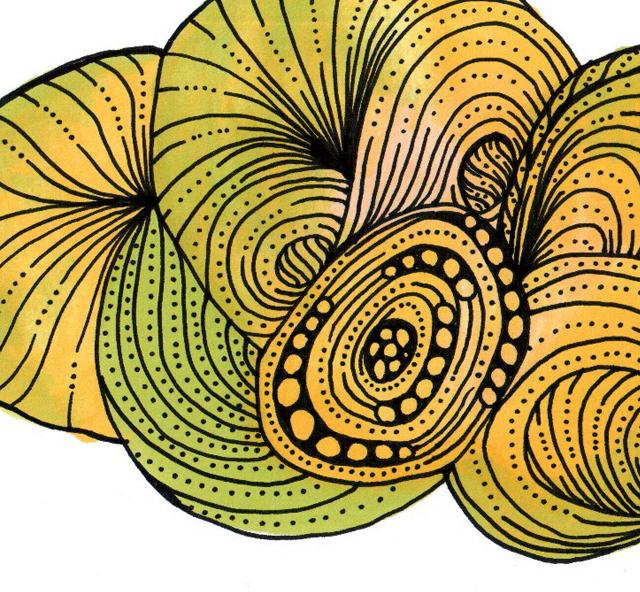 Promarkers krumelur gul